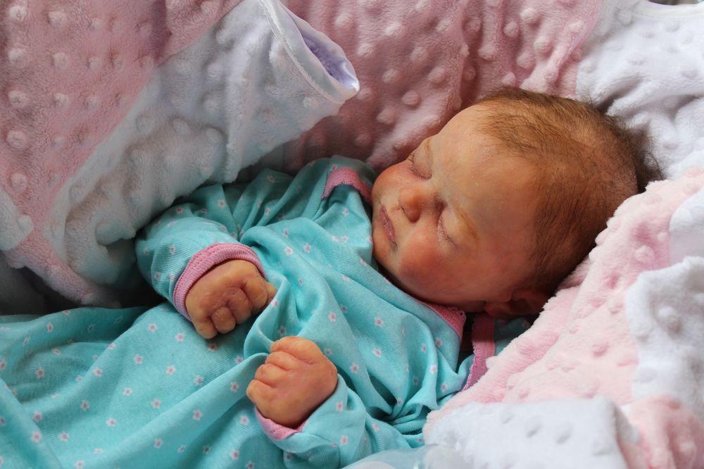"""23/"""" Handmade Reborn Baby Soft Newborn Bath Toy Full Body Silicone Girl Doll BB01"""