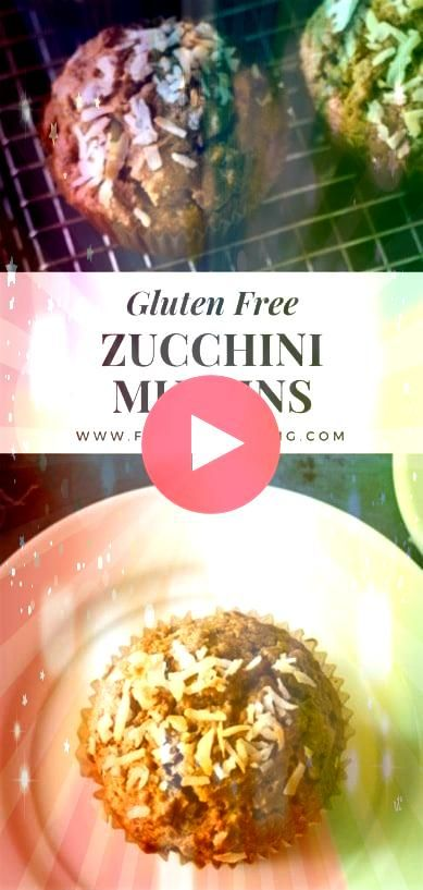 and easy gluten free zucchini muffins What to do with extra zucchini Gluten free muffin recipe that is perfect for breakfast via Quick and easy gluten free zucchini muffi...