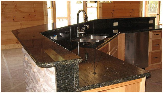 Ubatuba Granite Countertops Gold