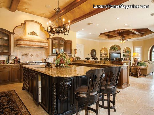 LHM Tampa Bay - The Rolls Royce Of Homes #LuxuryHomes #Kitchens #Luxury #Granite
