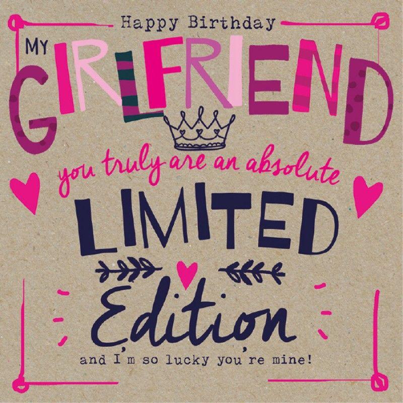 Birthday Girlfriend … Happy birthday friendship