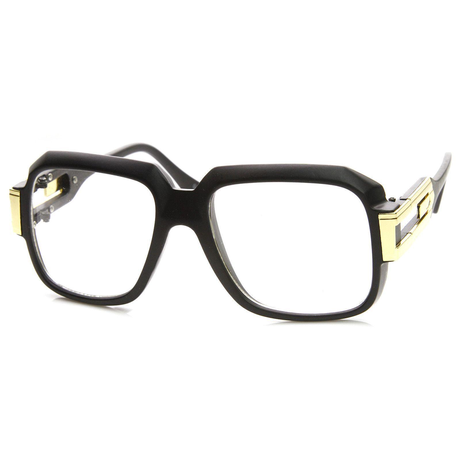 c4b0f7cec31f3 Retro Euro Square Hip Hop 80 s Fashion Clear Lens Glasses 8901 ...