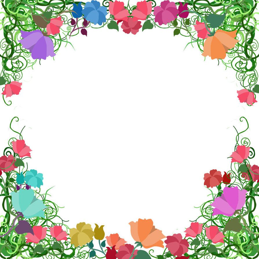 Free. Page Border Designs Vine Border by ozaidesigns on