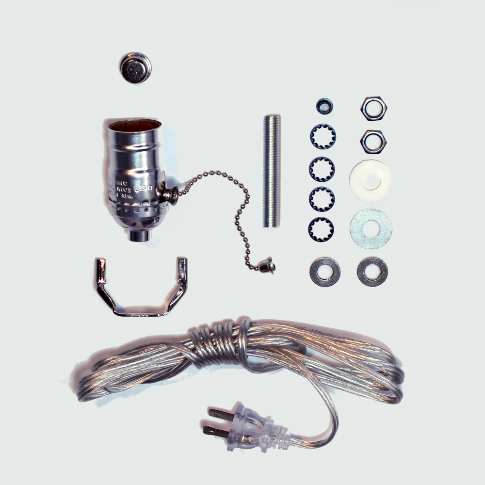 Electric lamp wiring kit products lamp bases and lamps electric lamp wiring kit geotapseo Image collections