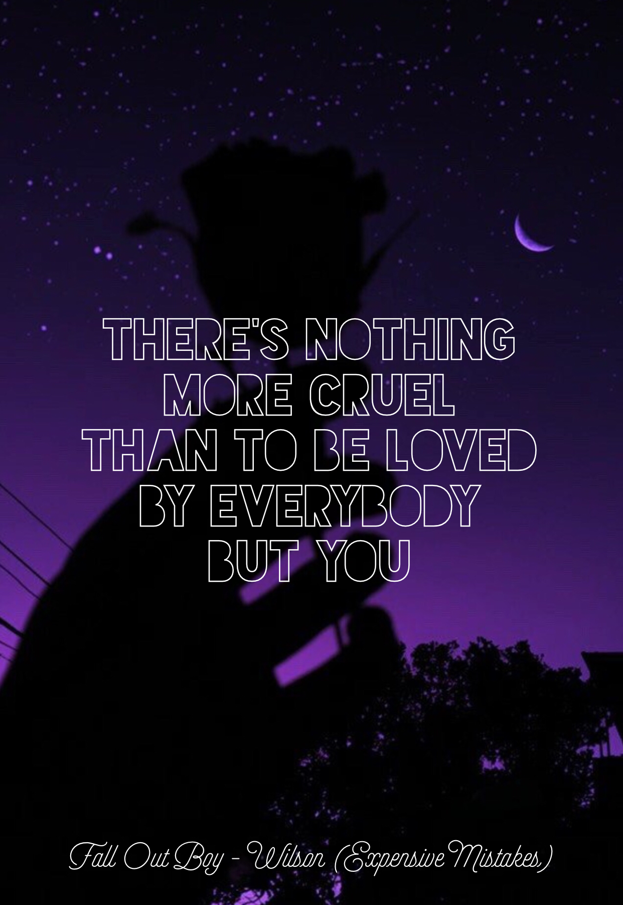 Fall Out Boy Iphone Wallpaper Lyrics Fall Out Boy M A N I A Wilson Expensive Mistakes