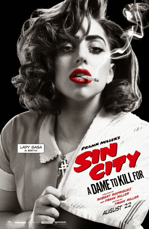 Google themes lady gaga - Sin City 2 Badposter Lady Gaga Sin City A Dame To Kill For