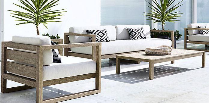 Patio Furniture And Decor Trend Bold Black And White White Patio Furniture Modern Patio Furniture Teak Patio Furniture