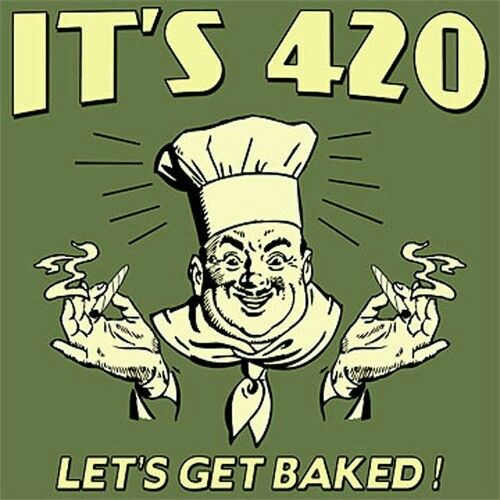 You heard him get started 4/20/14