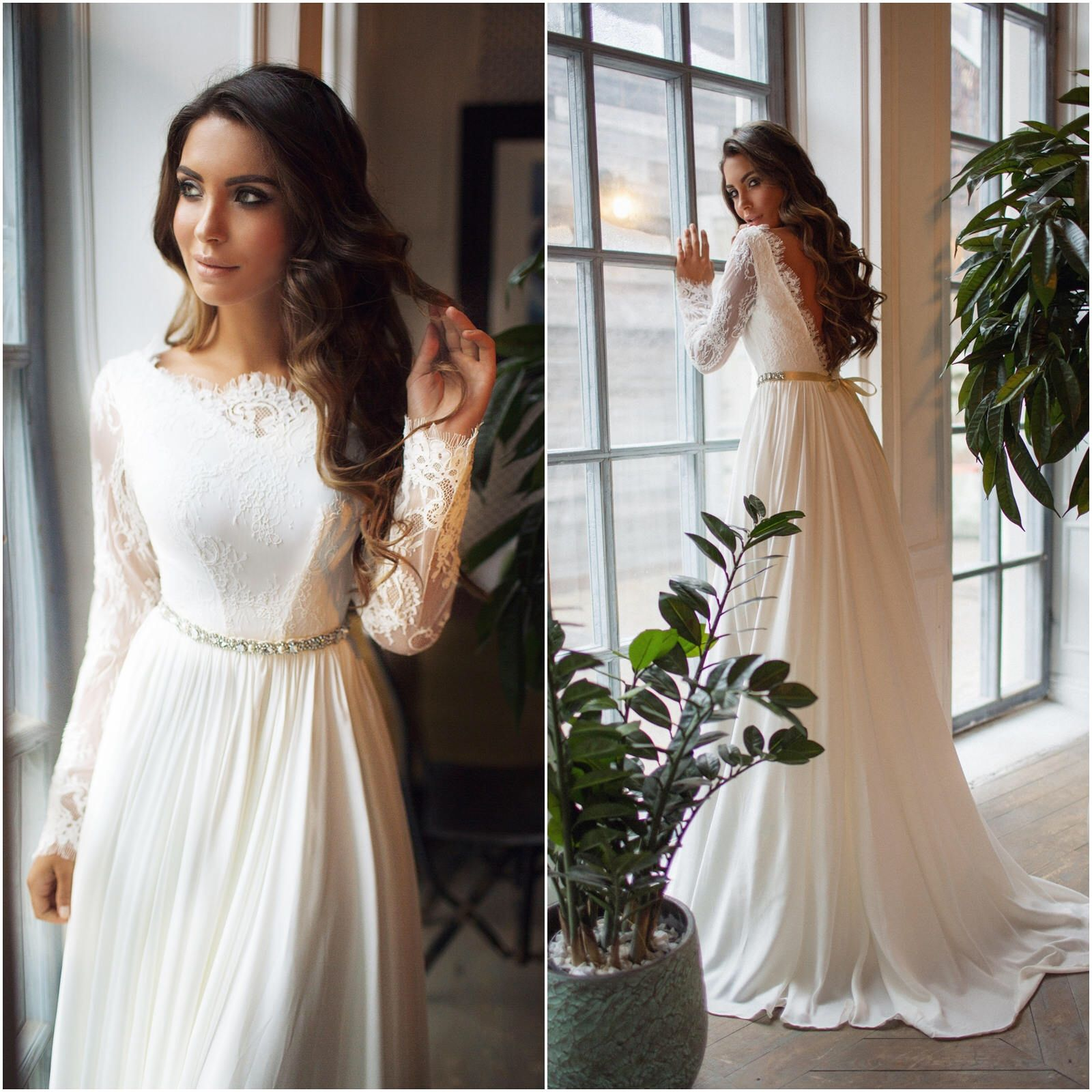 Pin by wedding obsessed on long sleeve wedding dresses pinterest