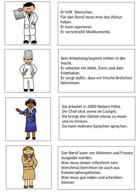 Berufe kennenlernen grundschule