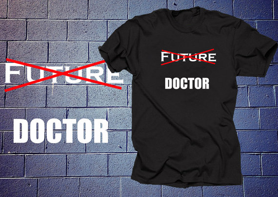 No Longer Future Doctor Funny Doctor Funny Profession T Shirt Gift