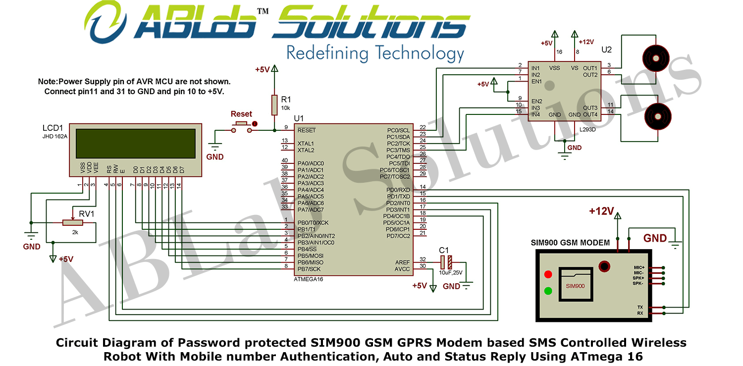 Wireless Modem Circuit Wiring Diagrams Radio Diagram Of Password Protected Sim900 Gsm Gprs Based Access Point