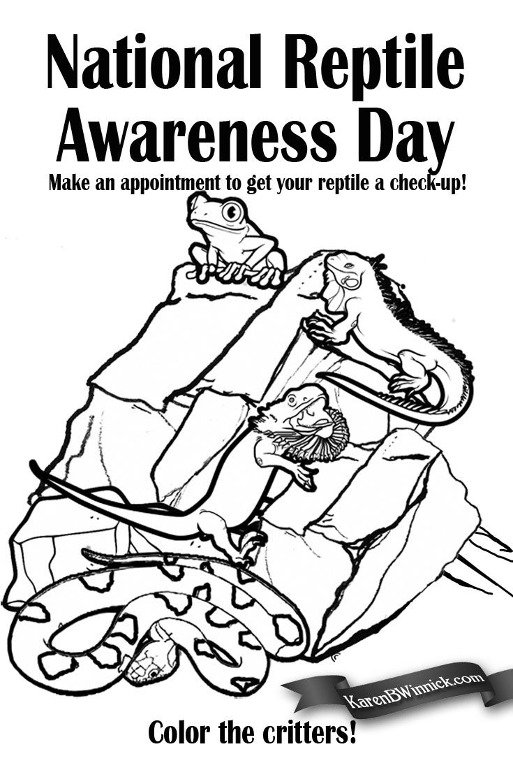 National Reptile Awareness Day is October 21. There are many ...