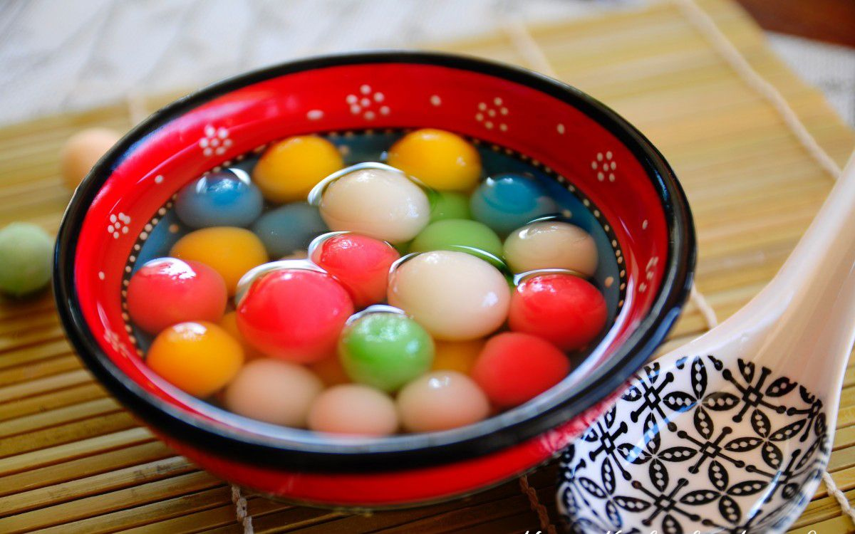 Chinese New Year Food What to eat? Glutinous rice balls