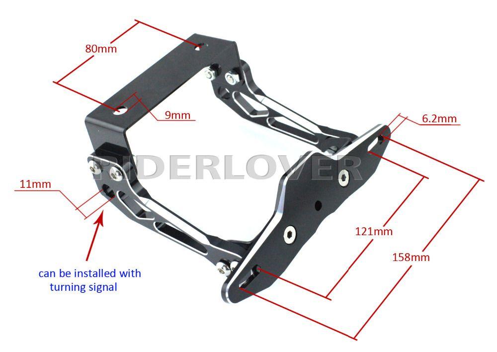 Motorbike Number Plate Frames - Frame Design & Reviews ✓