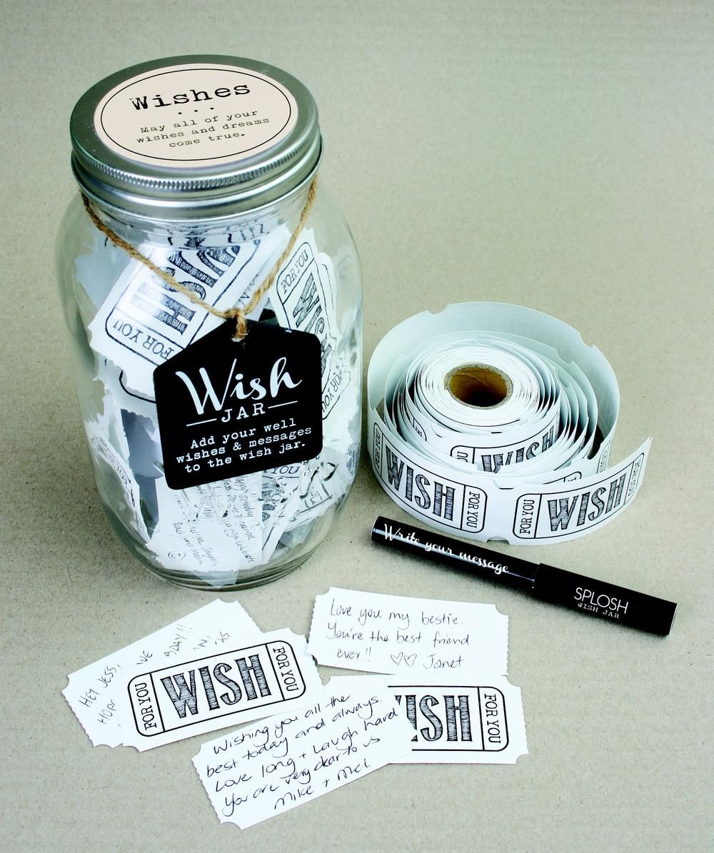 Splosh Wishes Wish Jar Gift Idea