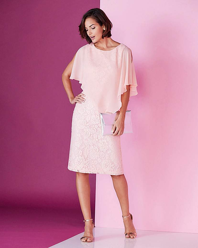 Joanna Hope Lace Overlay Dress | Products | Pinterest