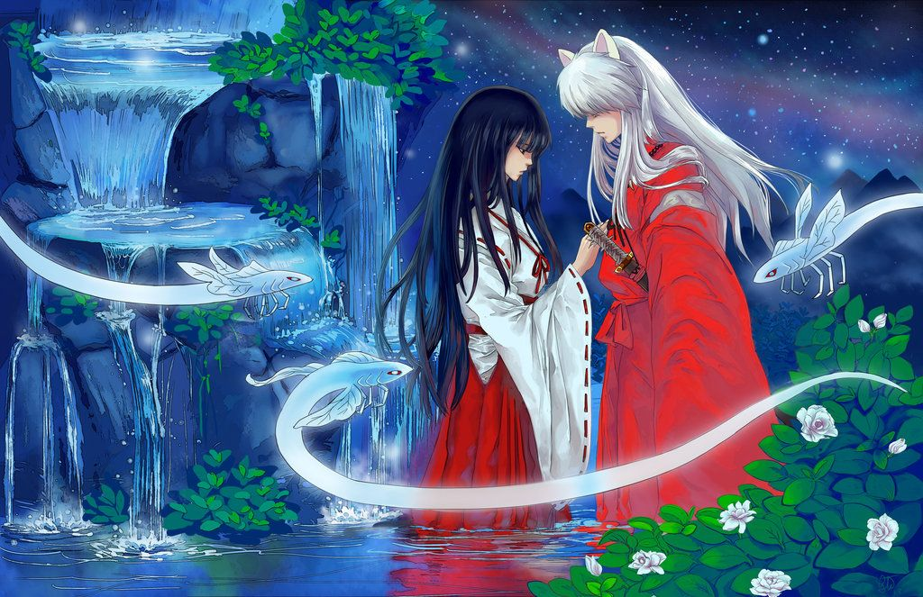 Inuyasha and Kikyou - Fate by ComplexWish on DeviantArt