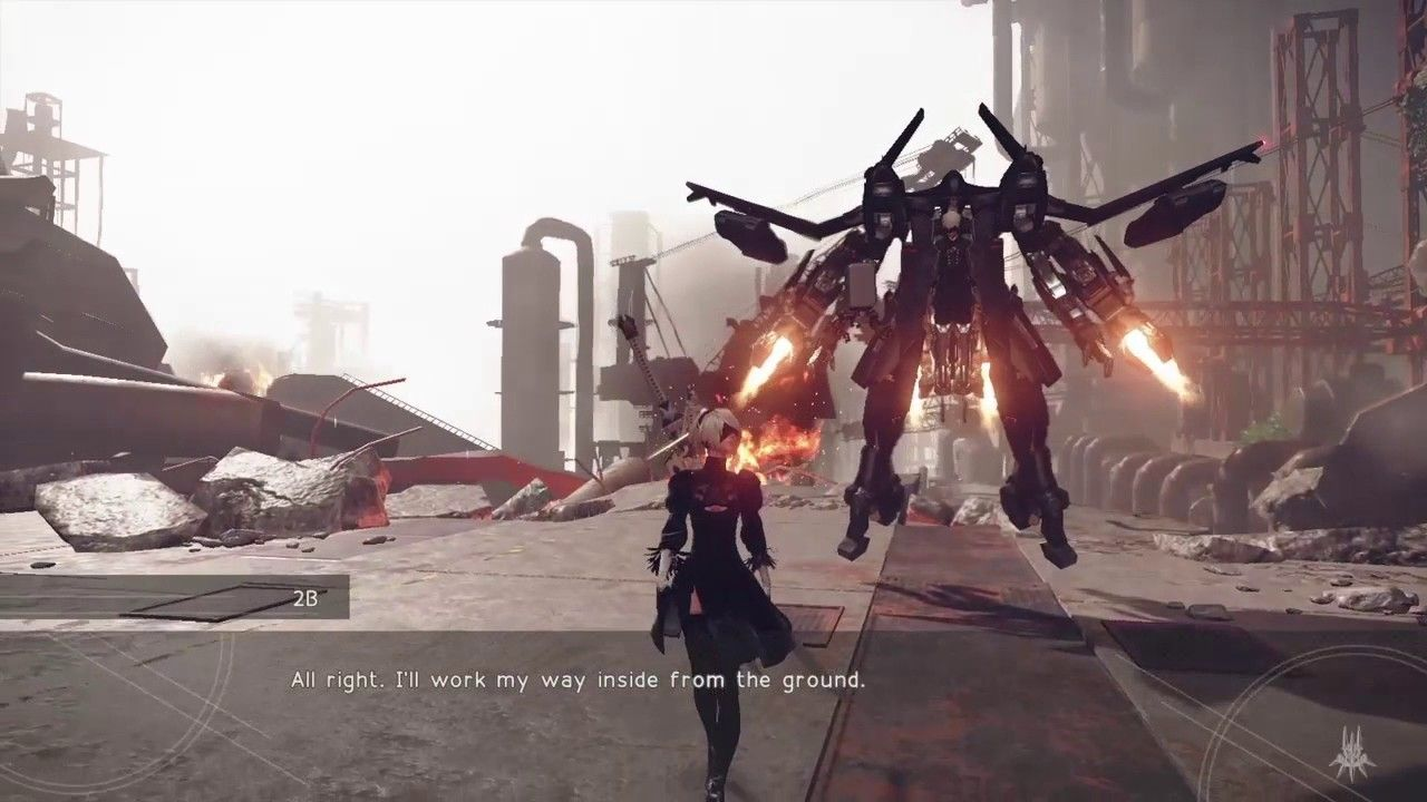 Nier Automata Final Demo Released Ps4 Gameplay Ps4 Gameplay Gameplay Ps4