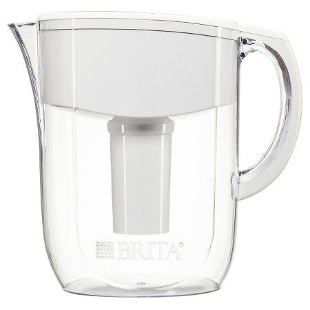 Brita Everyday Water Filtration Pitcher White 10 cup : Target