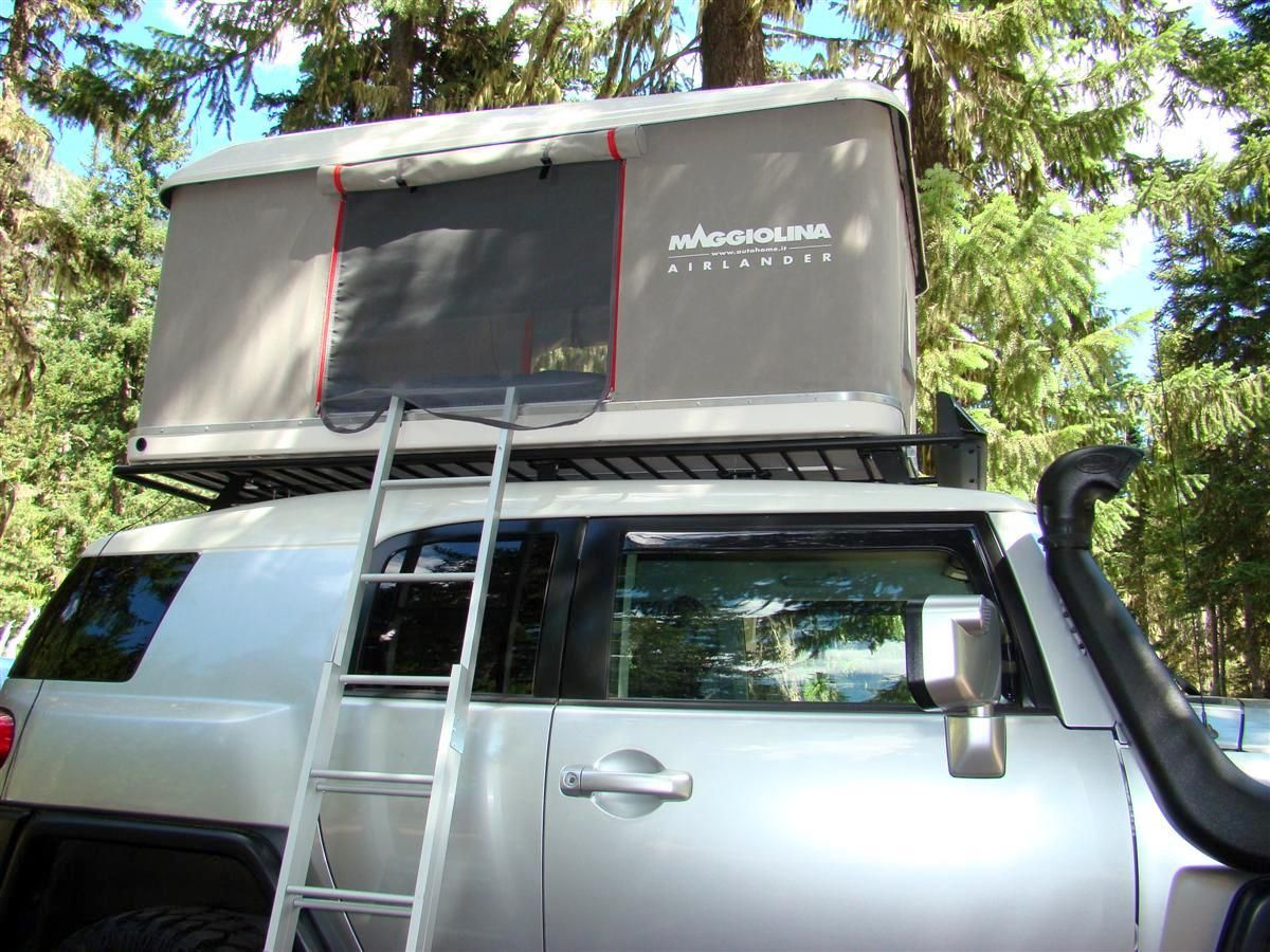 Maggiolina AirLand Roof Top Tent - 150 lbs & Maggiolina AirLand Roof Top Tent - 150 lbs | FJ Cruiser ...