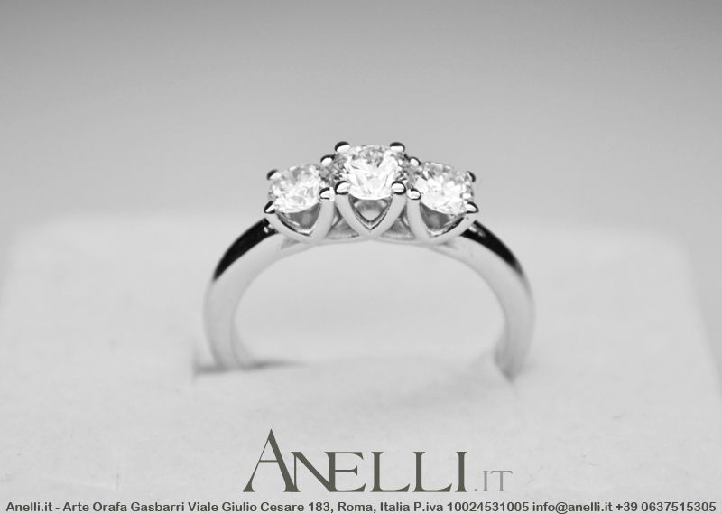 Pin On Anelli Trilogy Con Diamanti
