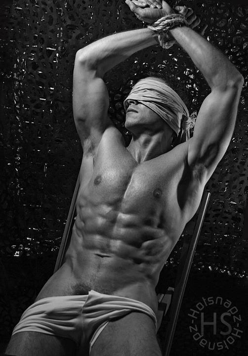 Hot men tied up