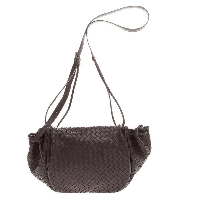 ea1c02d941c1 Bottega Veneta Flap Messenger Bag Intrecciato Nappa Medium 3
