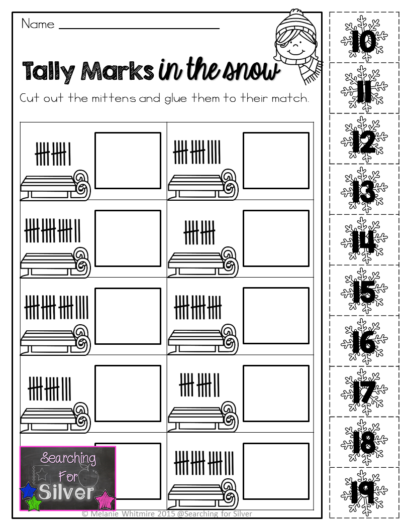 Tally Marks And Other Fun Winter Printables For First Grade Kindergarten Worksheets Printable Kindergarten Worksheets Tally Marks Kindergarten [ 1056 x 816 Pixel ]
