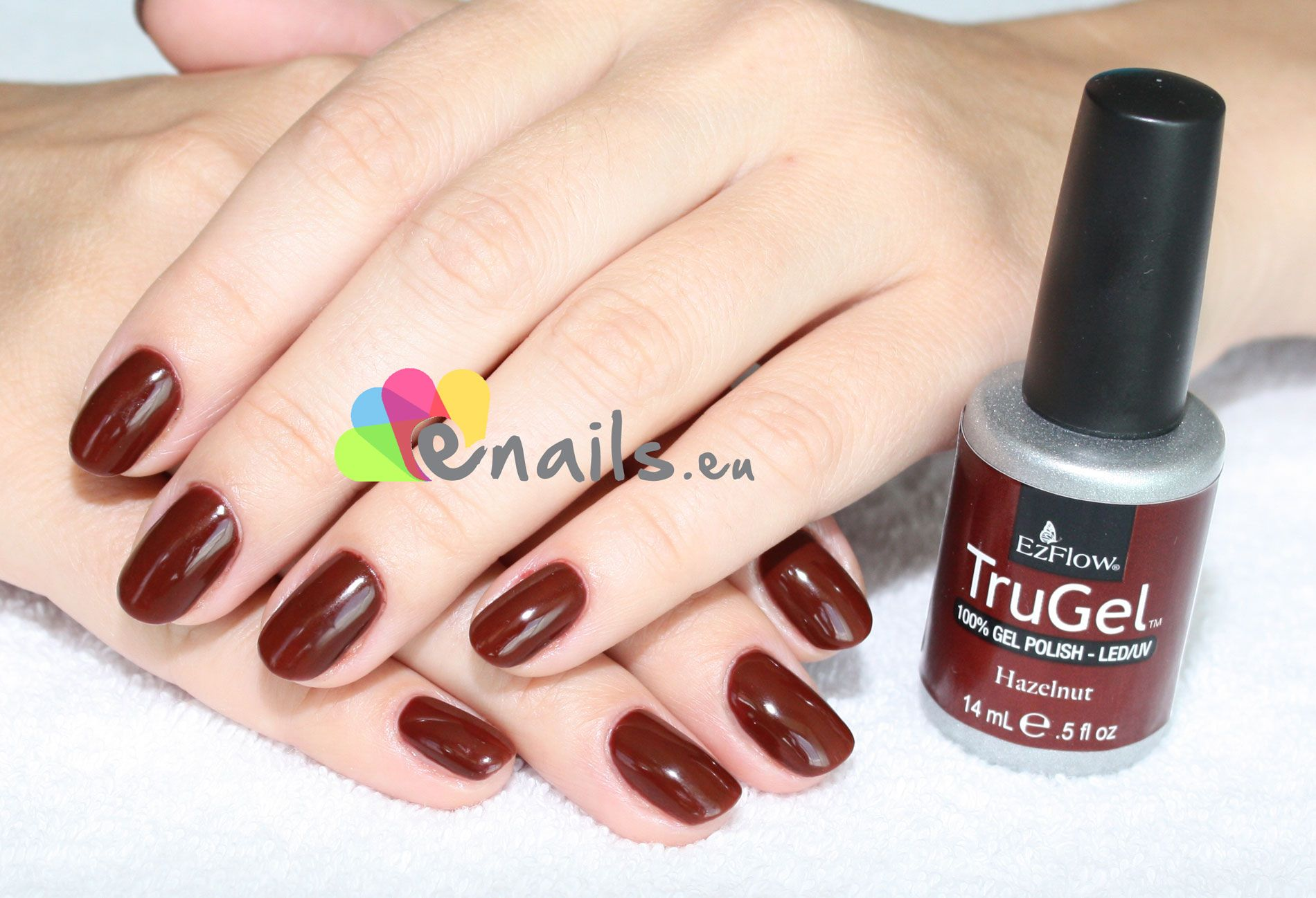 Hazelnut * EzFlow TruGel | Online shop: http://www.enails.eu ...