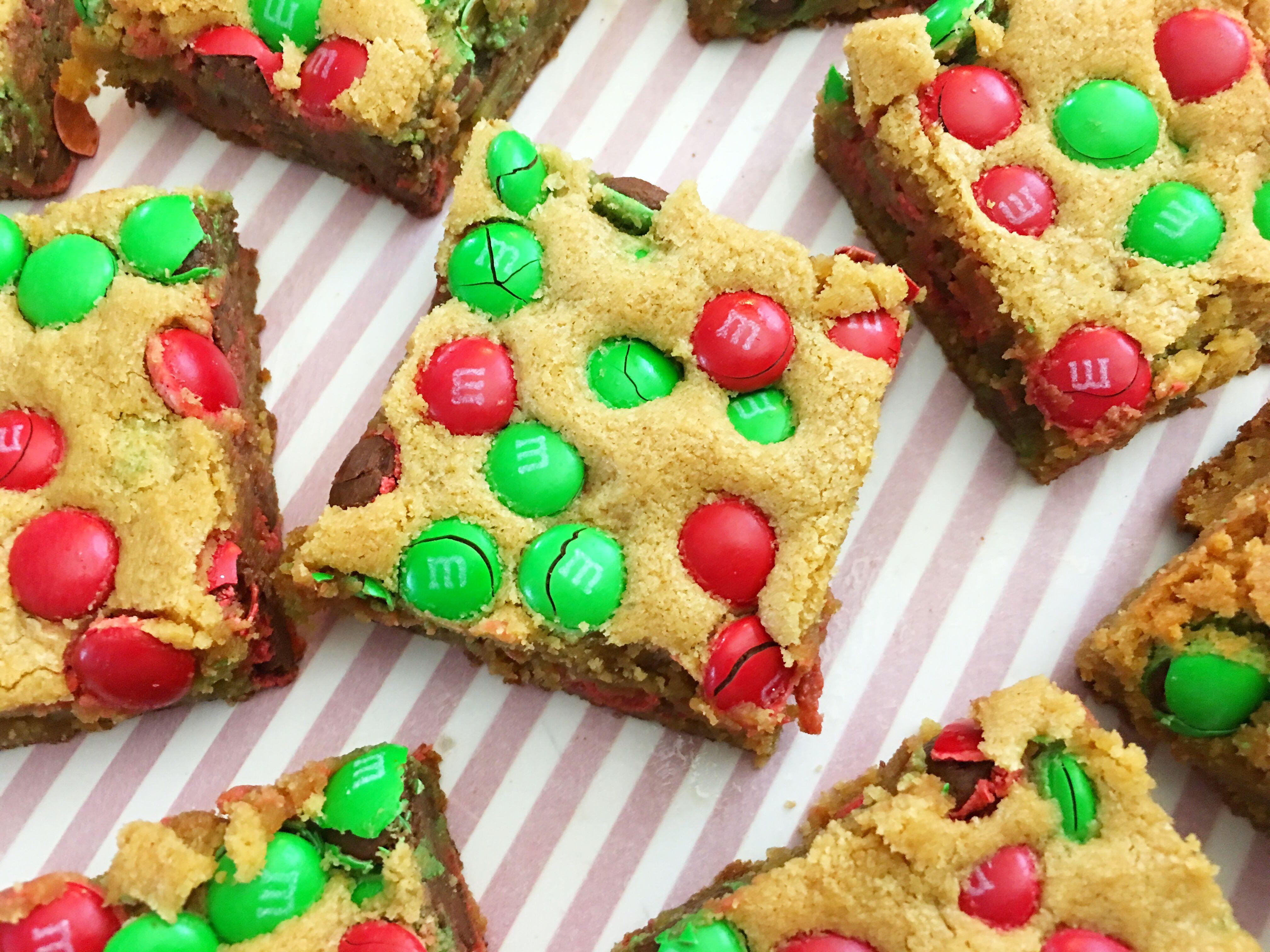 M M Cookie Bars