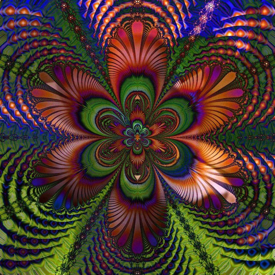 Rosing a fractal by innac on DeviantArt