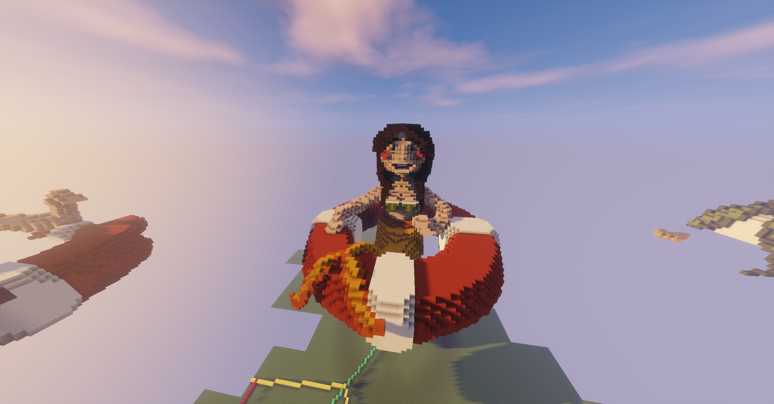#Minecraft #Mermaid #Building #Lollyherz #Italian #Builder #Sirena #Beach