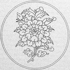 Tibetan Lotus Flower More Tibetan Designs On Www Tibetan Calligraphy Com Buddhist Art Tibetan Art Buddhist Symbols