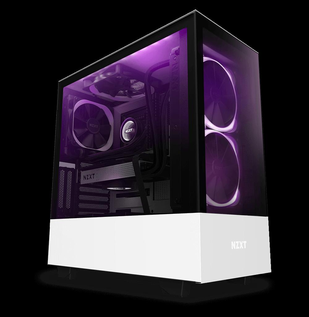 Nzxt Mattmodspcs Pc Gamer Rog Watercooling Setup Unlimited