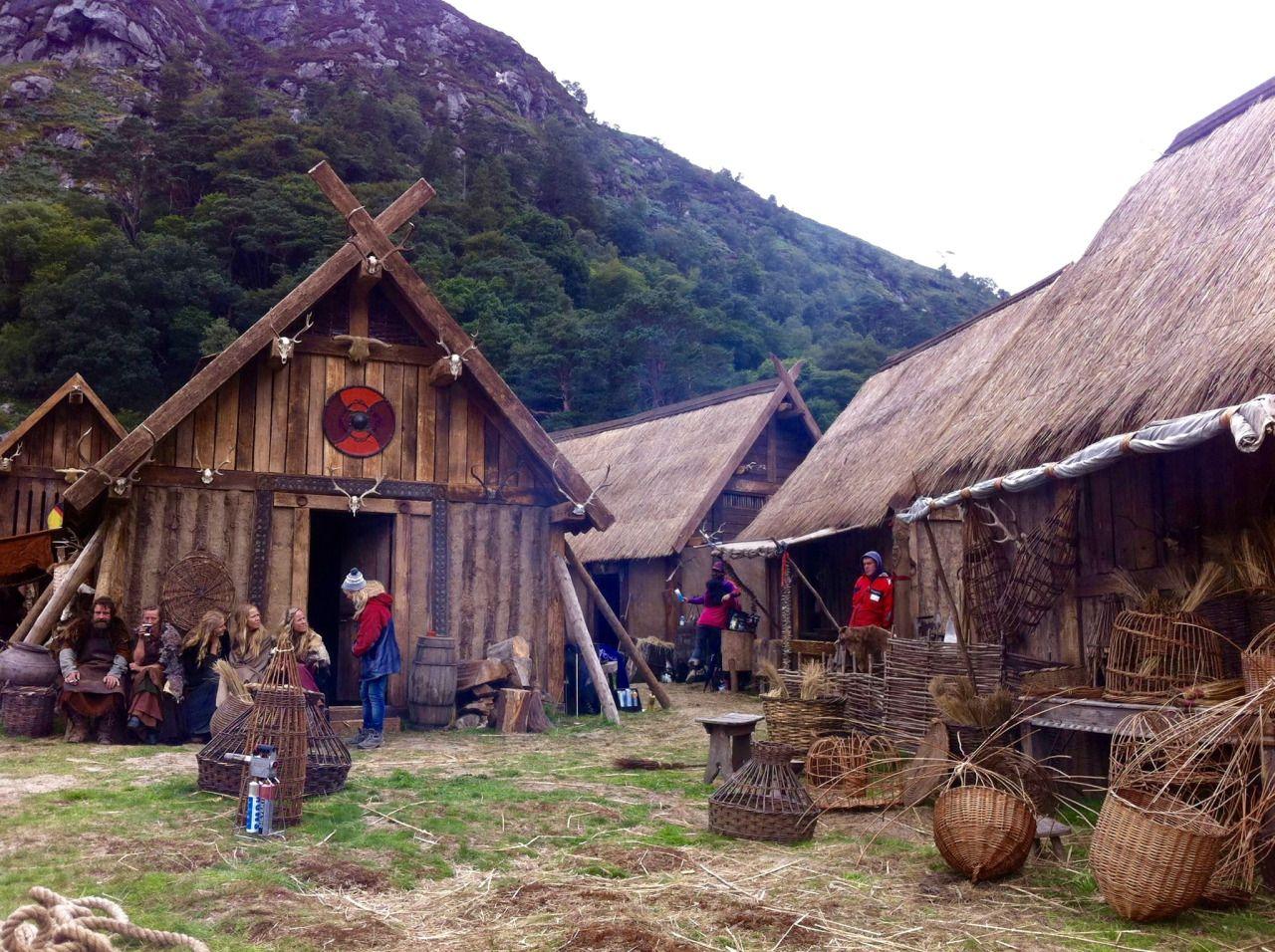 A viking village kattegat from vikings https www for Classic house names