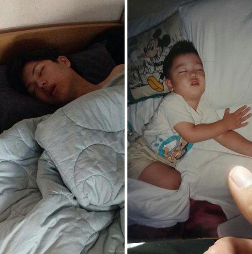 Btob Sungjae Then And Now Adorable Sleep Habits Are Forever Sungjae Sungjae Btob Yook Sungjae