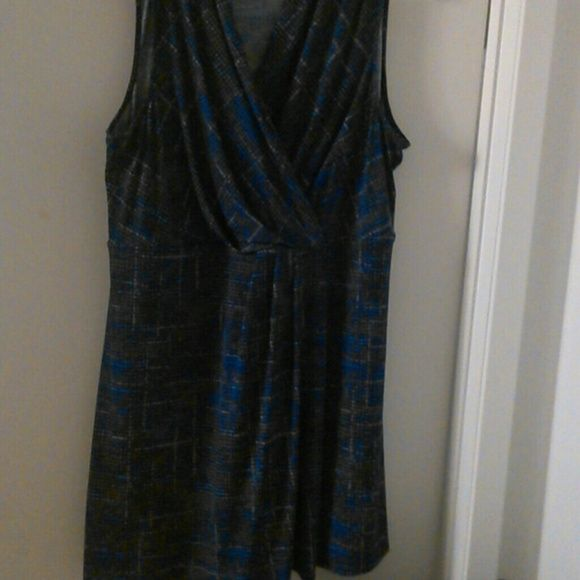 Dress 95 /polyester spandex Lane Bryant Dresses