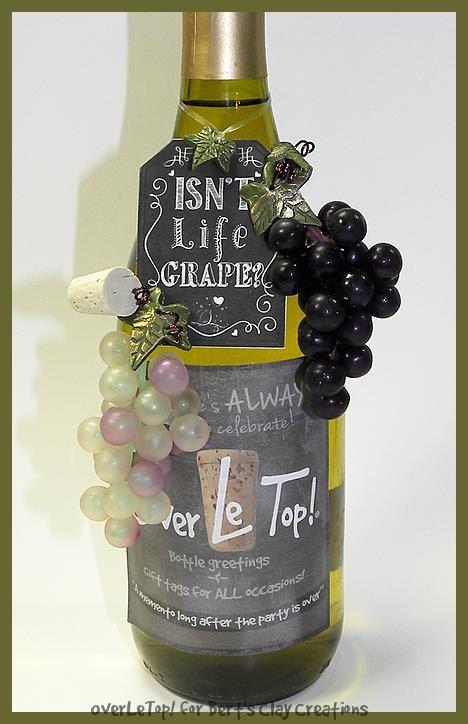 Customized birthday greetings bottle of wine by bertsclaycreations customized birthday greetings bottle of wine by bertsclaycreations 850 m4hsunfo