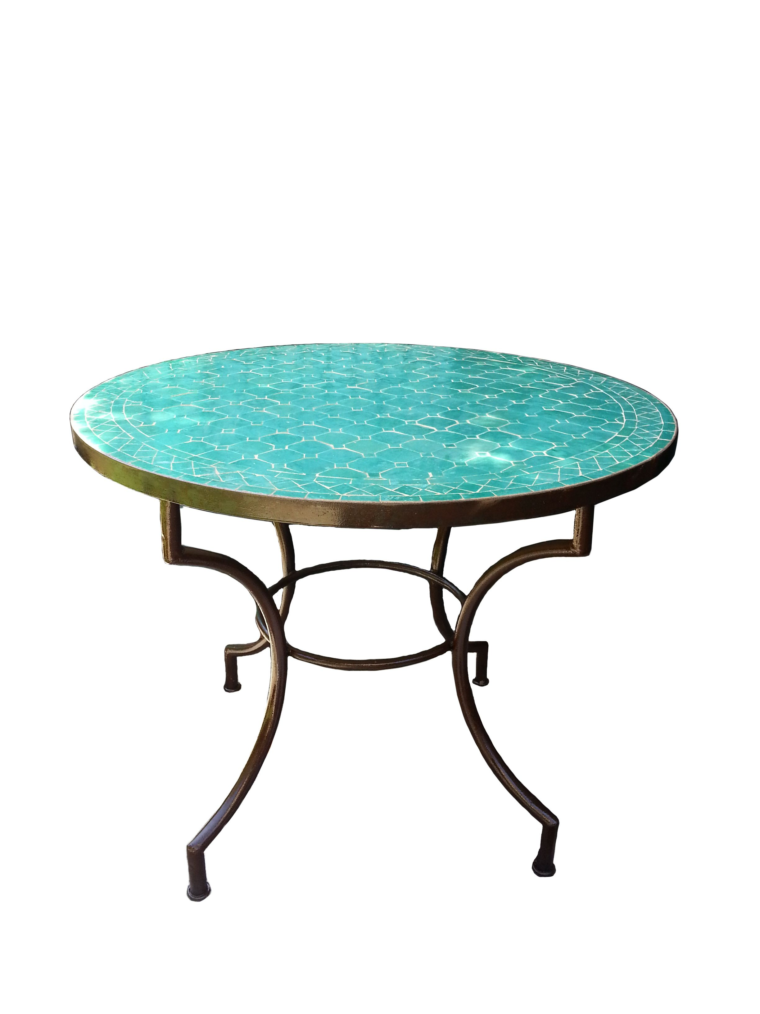 60 Mosaic Table Corra Design Aqua Kenza Imports Favorite  # Muebles Fischel