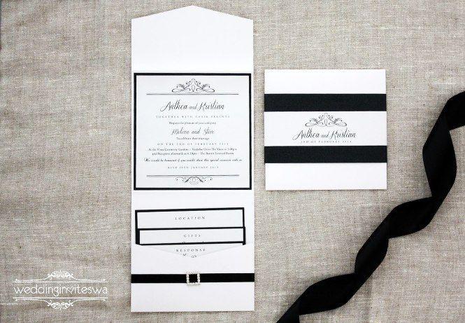 wedding invites wa Wedding