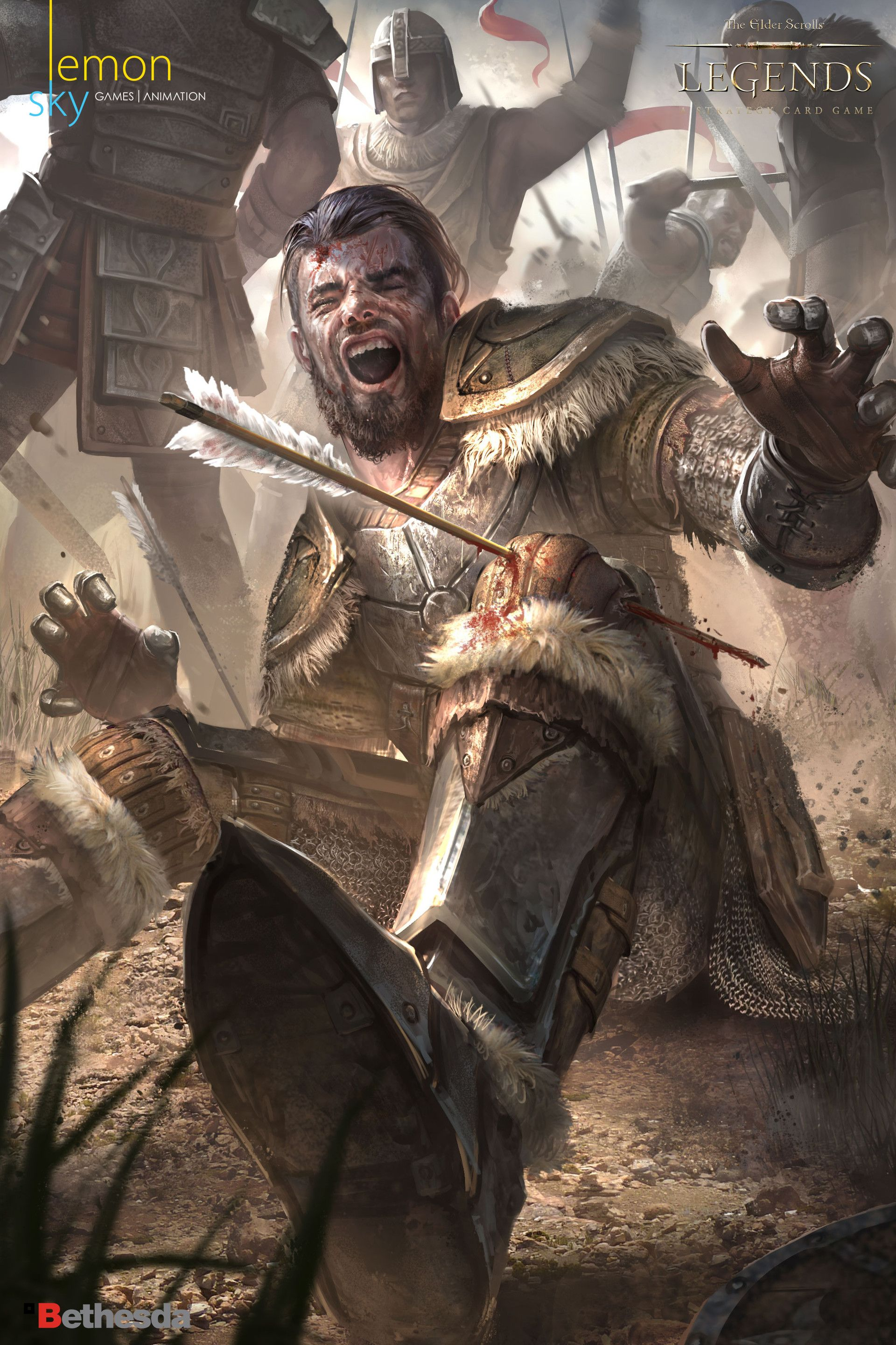Artstation The Elders Scrolls Legends Lemon Sky Studio With