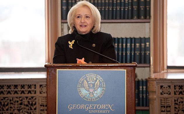 Melanne Verveer -- Executive Director, Georgetown Institute for Women, Peace and Security