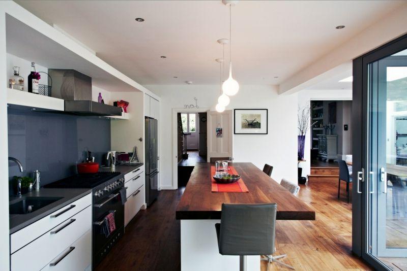 Wäre eine offene Küche das richtige für Sie? - ideen offene kuche wohnzimmer