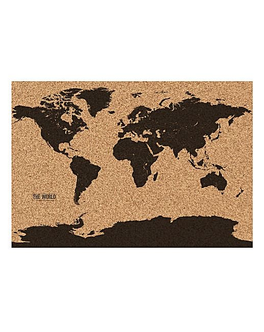 Corkboard Map The Brilliant Gift Shop Xmas ideas