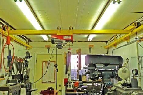 Harbor Freight Gantry Crane >> overhead hoist track garage - Google Search | DIY and crafts | Garage workshop, Garage tools ...