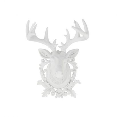 deko geweih hirsch white polyresin weiss home24 hirschgeweih dekorationen design wanddekoration obi