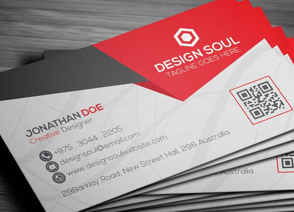 21 creative minimal business cards design business cards design