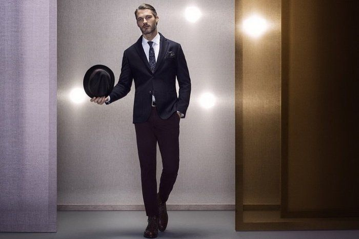 Ben Hill for Massimo Dutti Special Events Look Book