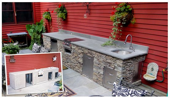 Build Your Outdoor Kitchen Or BBQ Island | OxBox